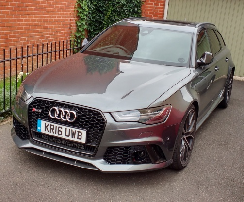 RS6 - front