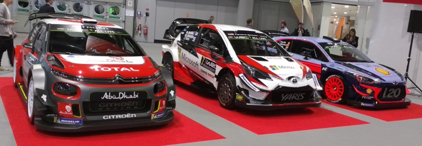 Cropped - Hyundai, Toyota and Citroen front